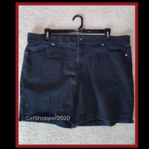 ❗Ladies Faded Denim Shorts (#1)